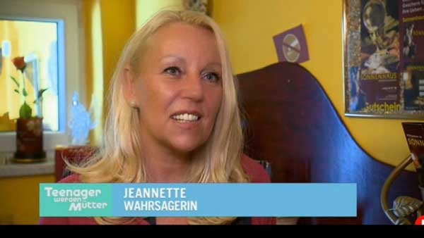 Teenager werden Mütter bei Hellseherin Jeannette Graz